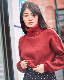 0 Citizen Turtleneck Sweater Multicolor AVJSW00124 RVCA