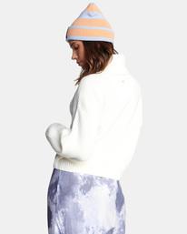 7 Citizen Turtleneck Sweater White AVJSW00124 RVCA