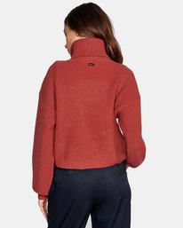 2 Citizen Turtleneck Sweater Multicolor AVJSW00124 RVCA