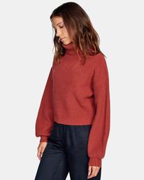 5 Citizen Turtleneck Sweater Multicolor AVJSW00124 RVCA
