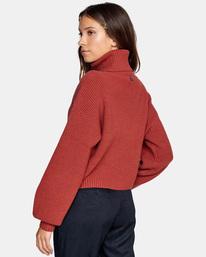 6 Citizen Turtleneck Sweater Multicolor AVJSW00124 RVCA