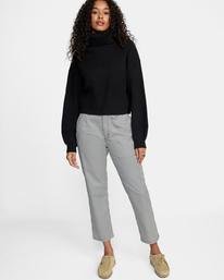 3 Citizen Turtleneck Sweater White AVJSW00124 RVCA