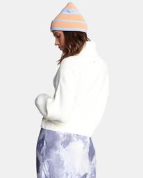 5 Citizen Turtleneck Sweater White AVJSW00124 RVCA