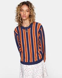 1 Never Better Knit Sweater Blue AVJSW00127 RVCA