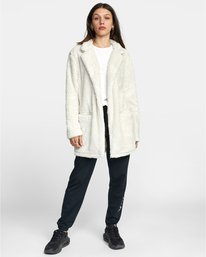 3 OUT OF OFFICE TOP White AVJTO00103 RVCA