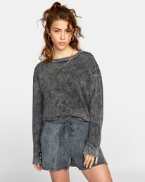 0 SWEET DREAMS SWEATER Black AVJTO00104 RVCA
