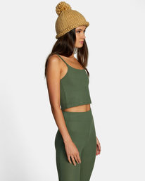 6 With Love Tank Top Green AVJTO00122 RVCA