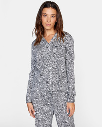 0 Matt Leines   Long Sleeve Pajama Set White AVJTO00125 RVCA