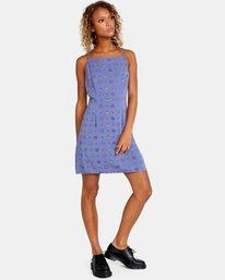 3 Timeout Dress Blue AVJWD00156 RVCA
