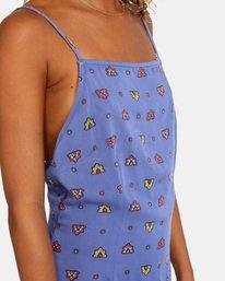 5 Timeout Dress Blue AVJWD00156 RVCA