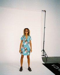 2 Island Time Dress Brown AVJWD00157 RVCA