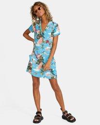 5 Island Time Dress Brown AVJWD00157 RVCA