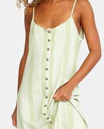 5 Shadow Dress Green AVJWD00163 RVCA