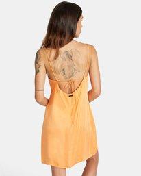 1 Out There Dress Orange AVJWD00168 RVCA