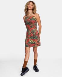 3 All Feels Tank Dress Multicolor AVJWD00172 RVCA
