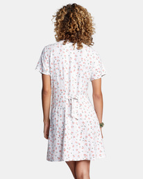 1 Once More Mini Dress White AVJWD00174 RVCA