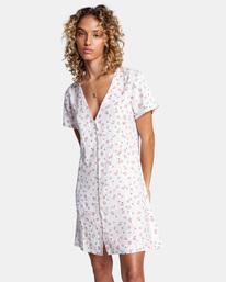 0 Once More Mini Dress White AVJWD00174 RVCA