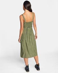 1 Uptown Tank Dress Green AVJWD00175 RVCA