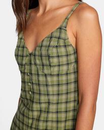 2 Uptown Tank Dress Green AVJWD00175 RVCA