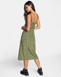 5 Uptown Tank Dress Green AVJWD00175 RVCA