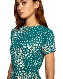 3 Camille Rowe   Lido Mini Dress Green AVJWD00186 RVCA