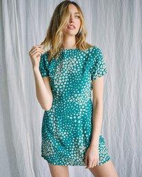 1 Camille Rowe   Lido Mini Dress Green AVJWD00186 RVCA