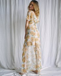 4 Camille Rowe   Lolo Maxi Dress Grey AVJWD00187 RVCA