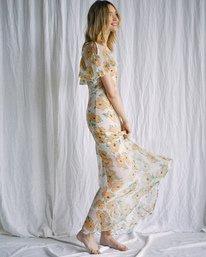 7 Camille Rowe   Lolo Maxi Dress Grey AVJWD00187 RVCA