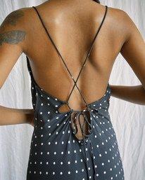 9 Camille Rowe | Phoebe Midi Dress Black AVJWD00188 RVCA