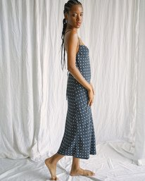 6 Camille Rowe | Phoebe Midi Dress Black AVJWD00188 RVCA