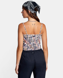 1 Side Note Cami Top White AVJWT00142 RVCA