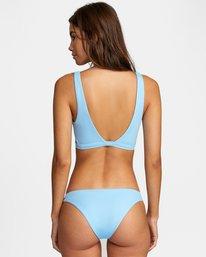 1 Solid Scoop Neck Bralette Bikini Top Black AVJX300116 RVCA
