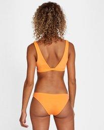 1 SOLID BRALETTE BIKINI TOP Orange AVJX300116 RVCA