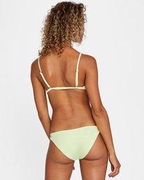 1 Solid Multi-Way Trilette Bikini Top Green AVJX300163 RVCA