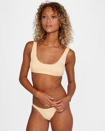 2 Run Wild Printed Scoop Neck Bralette Bikini Top Red AVJX300172 RVCA