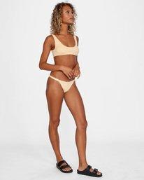 4 Run Wild Printed Scoop Neck Bralette Bikini Top Red AVJX300172 RVCA