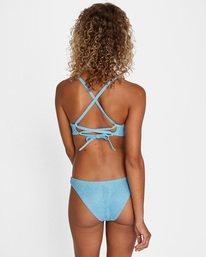 2 Run Wild Printed Crossback Tie Strap Bikini Top Red AVJX300173 RVCA