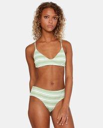1 Ziggy Crossback Bikini Top White AVJX300179 RVCA