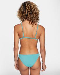 1 Solid Fixed Triangle Bikini Top Green AVJX300207 RVCA
