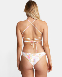 1 Mary Printed Crossback D-Cup Bikini Top White AVJX300216 RVCA
