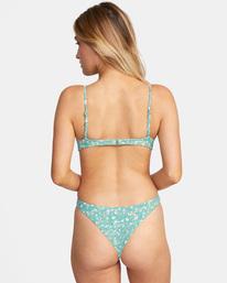 1 Sweet Escape Printed Balconette D-Cup Bikini Top Green AVJX300222 RVCA