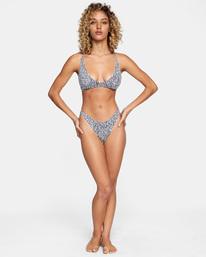 3 Matt Leines | Printed Trilette Bikini Top Orange AVJX300224 RVCA