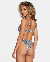5 Matt Leines | Printed Trilette Bikini Top Orange AVJX300224 RVCA