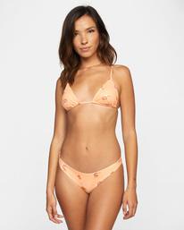 0 Easy To Love Printed Triangle Bikini Top  AVJX300226 RVCA