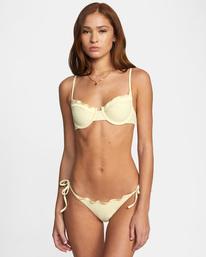 0 Sun Beam Solid Balconette Bikini Top  AVJX300229 RVCA