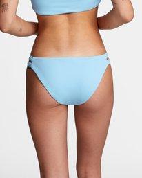 5 Solid Low-Rise Full Coverage Bikini Bottom Black AVJX400118 RVCA