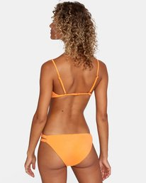 0 SOLID FULL BIKINI BOTTOM Orange AVJX400118 RVCA