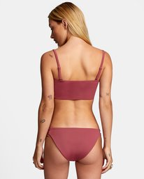 0 SOLID FULL BIKINI BOTTOM Purple AVJX400118 RVCA