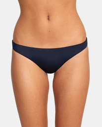 0 SOLID MEDIUM BIKINI BOTTOM Black AVJX400130 RVCA