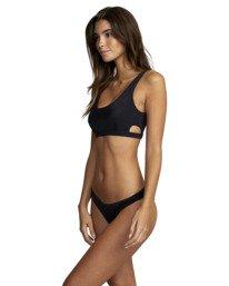 2 Solid Low-Rise Medium Coverage Bikini Bottom  AVJX400130 RVCA